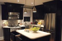 basement kitchen ideas / by Susanne Owens