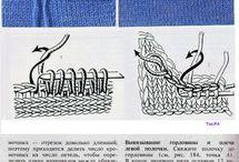 правила вязания горловины