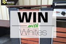 WIN with Whites / Win prizes for taking great photos of our products in your garden.