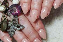 my SNS nail collection / dipping powder nails