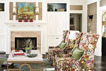 Family Room decor ideas / by Christina Dodd