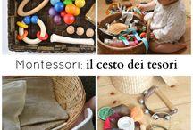 montessori:cesto tesori