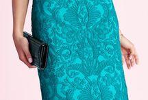 Turquoise Dress looks