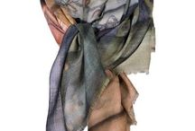 By Birdie Scarves Winter 2016 / Unique Art scarves in silk and cashmere