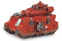 40k Tank / getting a collection of ideas together