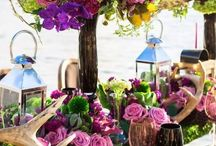 Floral Table Runner | Wedding Decor Ideas