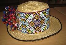 Beaded hatbands