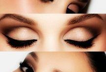 make-up, hair