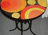 mosaiikkipöytä