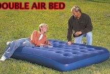 Double Bed Inflatable Air Mattress Camping Garden Outdoor Indoor Park Patio Home