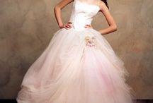 Pink Bride Dresses / Marvelous wedding dresses in pink
