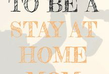 Stay At Home Mom Tips / Ideas for staying home with the kids, activities, schedules, fun things to do. Living each day at home with a purpose and getting things done!