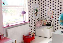 Chambre d'enfant vintage