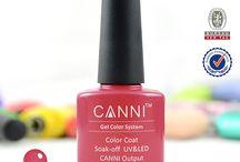 www.e-nails.gr / Ημιμόνιμα βερνίκια σε πάρα πολλά χρώματα άριστης ποιότητας.Για 3 εβδομάδες το ημιμόνιμο βερνίκι παραμένει στα νύχια σας και είναι περιποιημένα σαν να είναι φρεσκοβαμμένα.Τα CANNI ημιμόνιμα βερνίκια έχουν πιστοποίηση απο την Ε.Ε..Επίσης στο ηλεκτρονικό μας κατάστημα θα βρείτε Λίμες, λάμπες uv/led, σπρωχτήρι νυχιών, πενσάκι για πετσάκια, μπάφερ νυχιών (block).