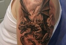 Tatuaje cu dragoni