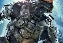 Sci-fi Armour Design