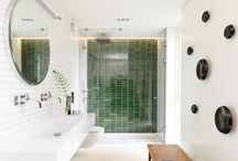 Bad 1 etasje / Bathroom interiors, tiles, furniture and accessories