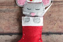 Mouse mad stocking