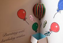 BALLOONS  scrap card ideas
