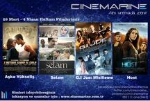 Cinemarine 29 Mart Haftası Filmlerimiz