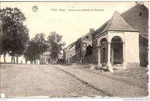 Huy autrefois / Anciens bâtiments, vieilles cartes postales et souvenirs souvenirs ....