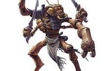 RPG Fantasy - Thri-kreens e Insectóides