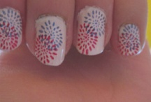 Fourth of July Nails\ / by Abbe Kelley