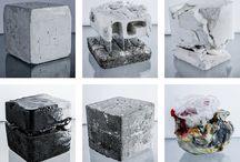Materials and inspiration / Materials