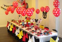 Mickey Mouse Party Inspiration / by Jennifer Perez ~ Petit Delights