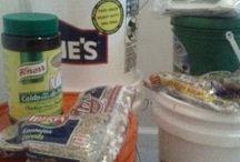 Recipes, food storage
