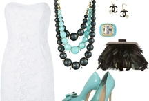 Accessories make the Outfit / Necklaces, earrings, rings and bangles.