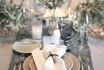 Wedding Place Settings / table settings