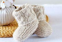 Knitting patterns, baby