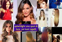 Splashlight haircolor / nuova tendenza colore 2014  Splashlight uno spot di luce sui tuoi capelli
