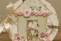 Vintage scrapbook project