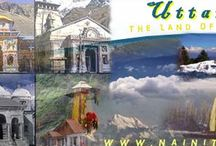 Uttarakhand Uttaranchal Tourism - उत्तराखंड - उत्तरांचल / Uttarakhand boasts of the snow capped mountains, rolling meadows, high altitude lakes, dense forests & wetland habitat support a divers and exotic wildlife, birds and plants species in Garhwal and Kumaon.  Uttarakhand formerly Uttaranchal is often referred to as the Land of Gods - Dev Bhumi due to the many holy Hindu temples & cities found throughout the state. The shrines of Yamunotri, Gangotri, Kedarnath and Badrinath make up the Char Dham Yatra, four highly sacred destinations of the Hindus.