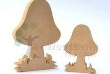 wooden mdf
