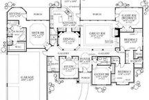 Dream House floor plans
