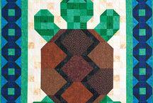 Turtle Quilt Blocks & quilts