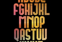 Typography / by Anthony Reale