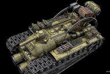 Tank / Sci-fi tank