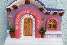 casitas pintadas