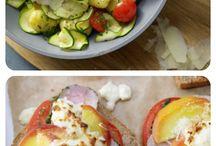 schlanke rezepte unter 400 kcal und Abnehmtriks, Salate