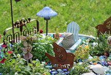 GARDENS-Fairy, Mini, Water Gardens and Terrariums / by Kathleen O'Connor
