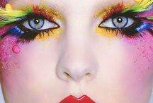 Rainbow makeup / by Amber Norell