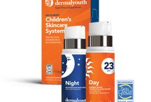DermalYouth - Children's Skincare / Set your children up for around-the-clock skincare success with our Daytime formula which contains nature's finest emollients plus SPF protection. Rejuvenate, hydrate and nourish youthful looking skin with our Nighttime formula while they sleep.  Available for purchase now! ➝ https://dermalyouth.com/product/kit/
