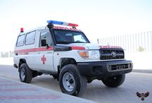 Ambulance vehicles / ARMOURED PERSONNEL CARRIER