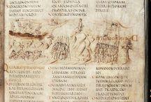 Manuscript: Rustic Capitals