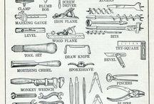 Værktøj - Snedker / Det værktøj vi har brugt mest i skolen !