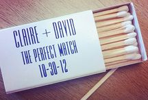 Wedding Ideas: The Perfect Match / Perfect Match ideas for your wedding or party.